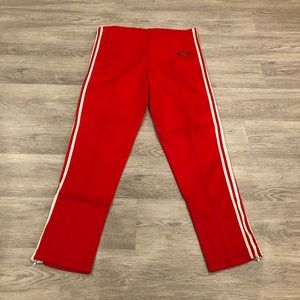 Adidas 1970s Vintage 3-Stripe Joggers Size 14